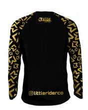 Load image into Gallery viewer, Little Rider Co Signature Series Jersey - BLACK & GOLD