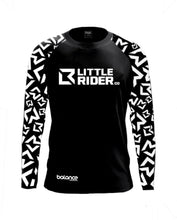 Load image into Gallery viewer, Little Rider Co Balance Series Jersey - 'DARTH BLACK'
