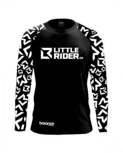 Little Rider Co Balance Series Jersey - 'DARTH BLACK' (END OF LINE) - RRP £25