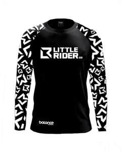 Little Rider Co Balance Series Jersey - 'DARTH BLACK' (END OF LINE)