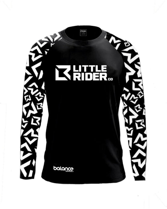 Little Rider Co Balance Series Jersey - 'DARTH BLACK'