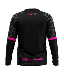 Little Rider Co 'SEND IT' Jersey - HOT PINK (END OF LINE) - RRP £25