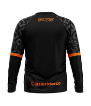Load image into Gallery viewer, Little Rider Co 'SEND IT' Jersey - ORANGE BLAST