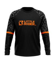Load image into Gallery viewer, Little Rider Co 'SEND IT' Jersey - ORANGE BLAST (RRP £25-28)