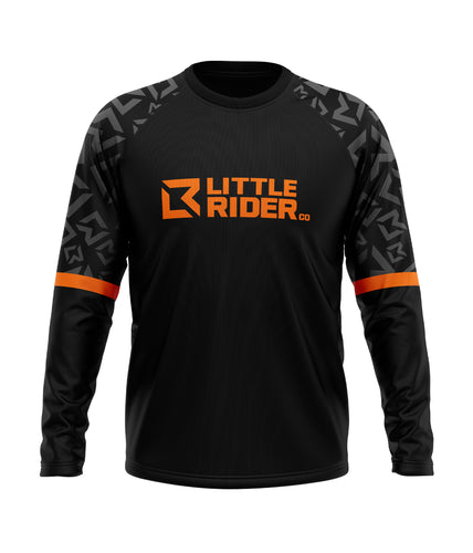 Little Rider Co 'SEND IT' Jersey - ORANGE BLAST (RRP £25-28)