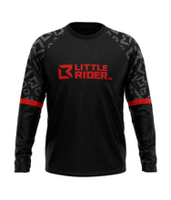 Load image into Gallery viewer, Little Rider Co 'SEND IT' Jersey - Dark DEVIL RED