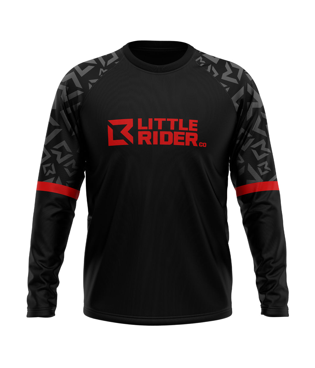 Little Rider Co 'SEND IT' Jersey - Dark DEVIL RED (END OF LINE) - RRP £25
