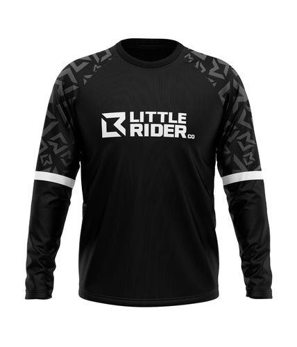 Little Rider Co 'SEND IT' Jersey - PURE WHITE (END OF LINE)