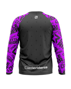 Little Rider Co 'Rad Purple' Jersey - RAD Series