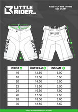 Load image into Gallery viewer, Little Rider Co Kids Bike Shorts - Classic Tech Series - STEALTH