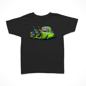 Little Rider Co Kids T-Shirt - Limey Team Truck