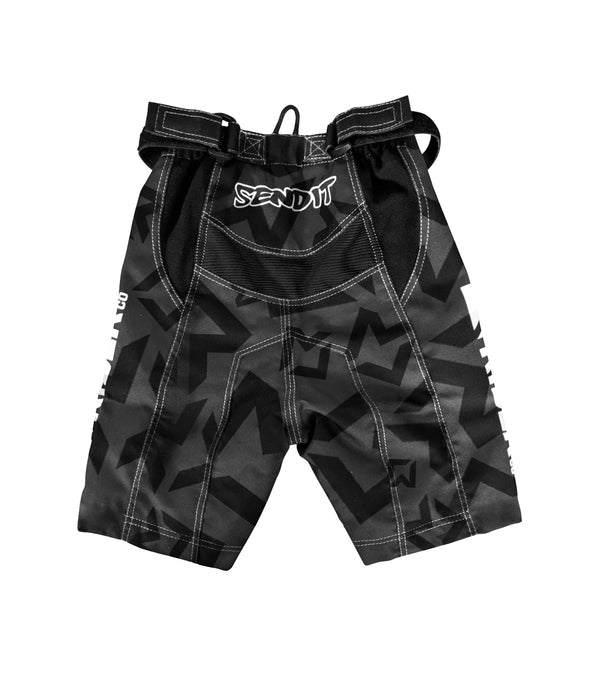 Little Rider Co Kids Bike Shorts - Classic Tech Series - STEALTH