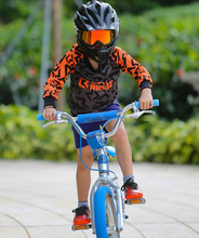 Load image into Gallery viewer, Little Rider Co 'Classic' Jersey - ORANGE BLAST