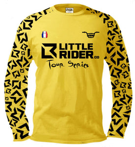 Little Rider Co TOUR Series Jersey - Limited Edition Yellow