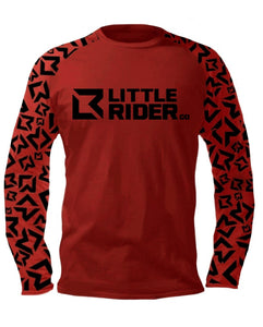 Little Rider Co Jersey - NEW RELEASE Dark Red