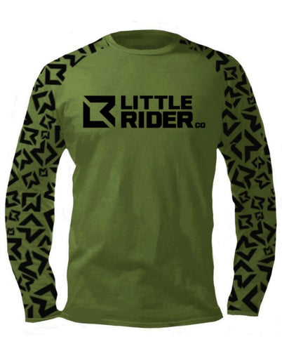 Little Rider Co Jersey - NEW RELEASE Army Green