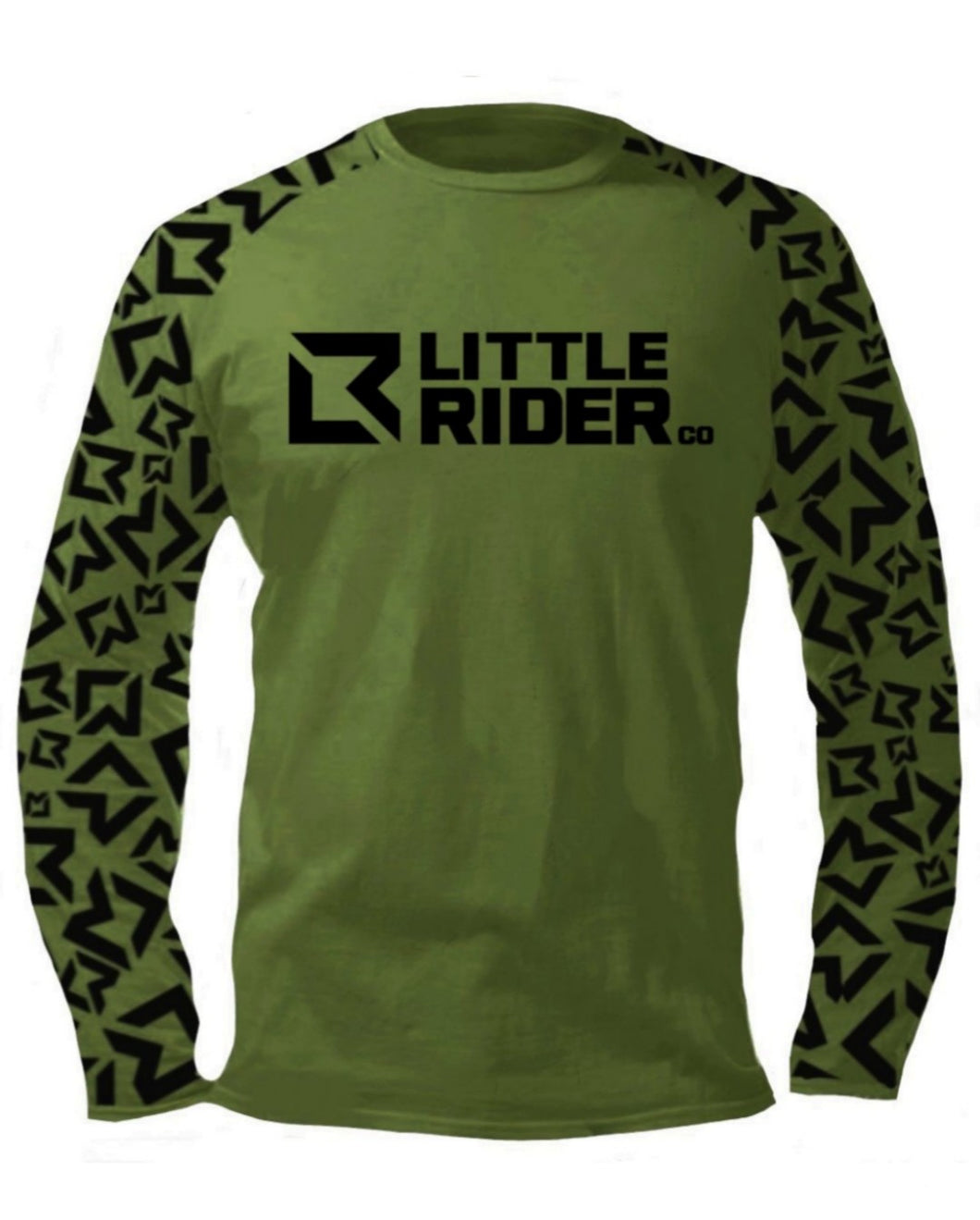 Little Rider Co Jersey - Army Green (END OF LINE)