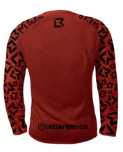 Load image into Gallery viewer, PRE-ORDER - Little Rider Co Jersey - NEW RELEASE Dark Red