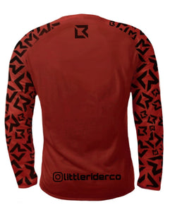 PRE-ORDER - Little Rider Co Jersey - NEW RELEASE Dark Red