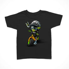 Load image into Gallery viewer, Little Rider Co Kids T-Shirt - Ryder on Bike