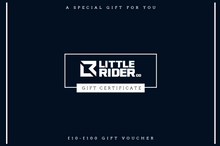 Load image into Gallery viewer, Little Rider Co Gift Card - Available for all Little Rider Gear