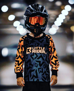 Little Rider Co 'Classic' Jersey - ORANGE BLAST