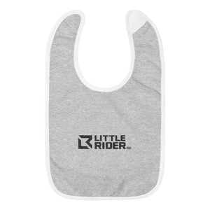 Little Rider Embroidered Baby Bib