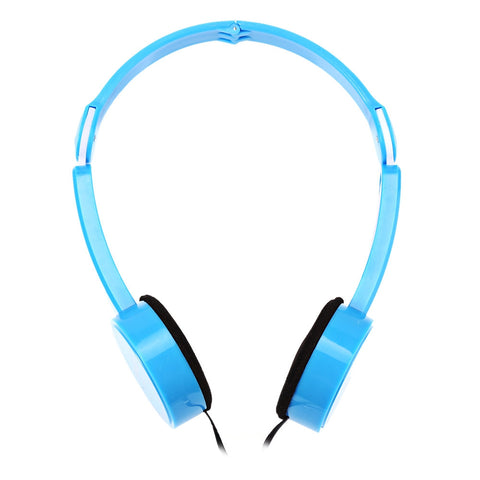Retractable Foldable Over-ear Headphone with  Mic Stereo Bass for Kids