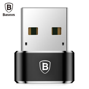 Baseus Mini Male USB to Female Type-C Converter Adapter