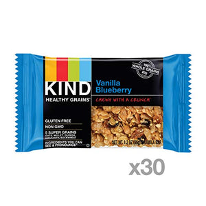 KIND Vanilla Blueberry Granola Bars
