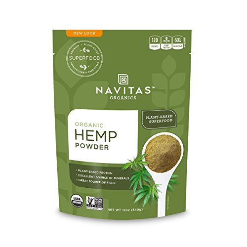 Navitas Organics Organic Hemp Powder 12 oz bag