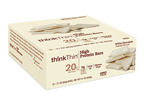 thinkThin White Chocolate High Protein Bars 10 Count