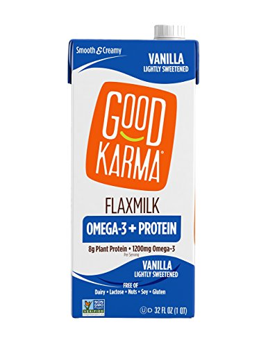 Good Karma Flaxmilk + Protein, Lightly Sweetened Vanilla  32 oz carton