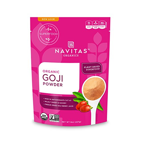 Navitas Organics Organic Goji Berry Powder 8 oz bag