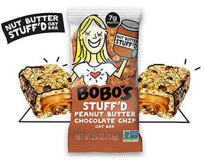 Chocolate Chip Peanut Butter, 12 Pack of 2.5 oz Bars