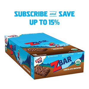 Clif Bar Chocolate Brownie Zbar  Bar, 18 Count