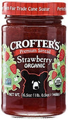 Crofter's Premium Spread Strawberry 16.5 oz Jar by Crofters