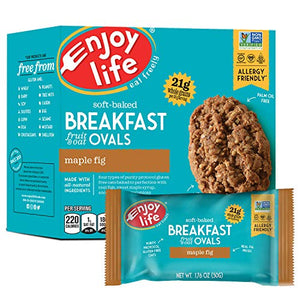 Enjoy Life Maple Fig Breakfast Ovals, 6 Count
