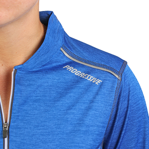 Women's Royal 1/4 Zip Performance Pullover- PRG1275