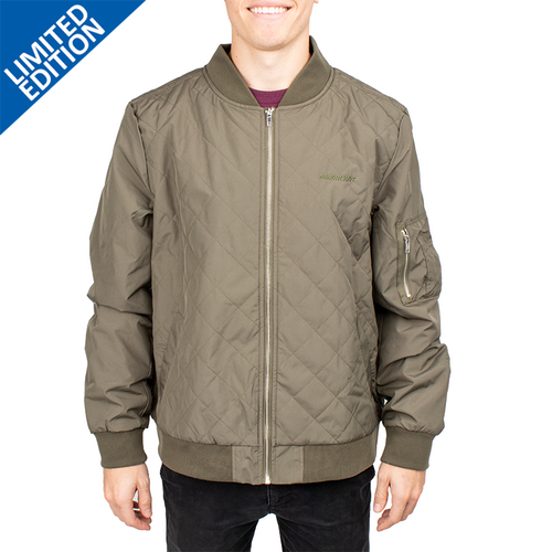Men's Quilted Boston Flight Jacket- PRG1446
