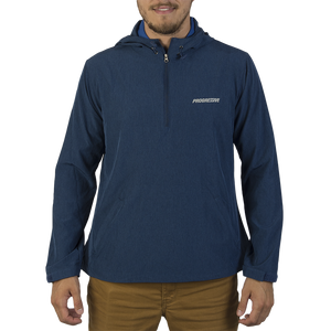 Men's Navy Pullover Stretch Anorak - PRG1128