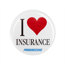 Load image into Gallery viewer, I heart Insurance Button- PRG1378