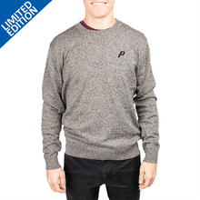Load image into Gallery viewer, Men's Grey Sweater- PRG1452