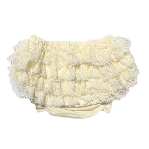Cream Lace Bloomer