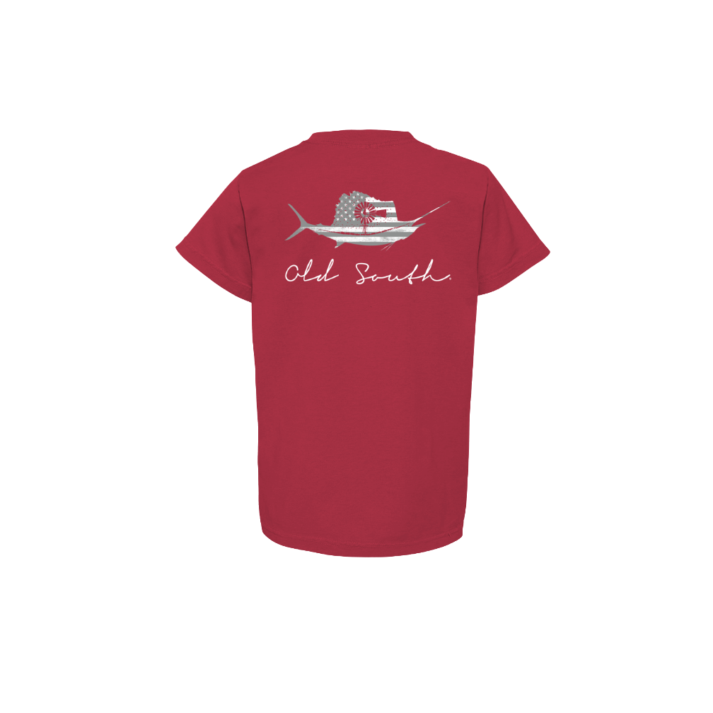 Youth Old South Sailfish Tee