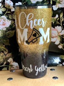 Rockmart Cheer Mom Tumbler