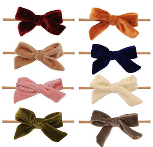Velvet Nylon Bow Set