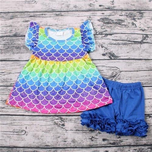 Rainbow Mermaid Set