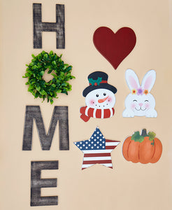 Seasonal Home Sign
