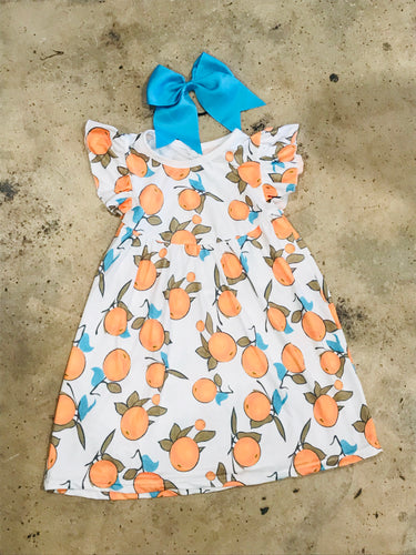 Oranges Pearl Dress